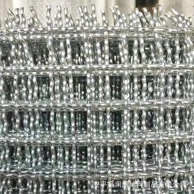 生产批发 轧花网 钢丝筛网 矿筛过滤网 钢丝围栏网 黑钢轧花网