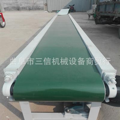 多功能皮带输送机 移动式输送机 颗粒带式输送机