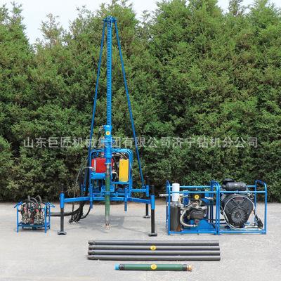 山东巨匠新型SDZ-30S山地钻机 气动物探钻机 上山方便可拆卸热销