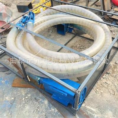 车载软管玉米输送机 农用粮食吸粮机 移动式家用软管吸粮机厂家
