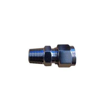 不锈钢卡套式管接头焊接式管接头 防腐蚀耐高温卡套式直通接头