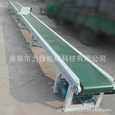PVC平面皮带输送机 移动式电动升降输送机 移动伸缩式输送机厂家