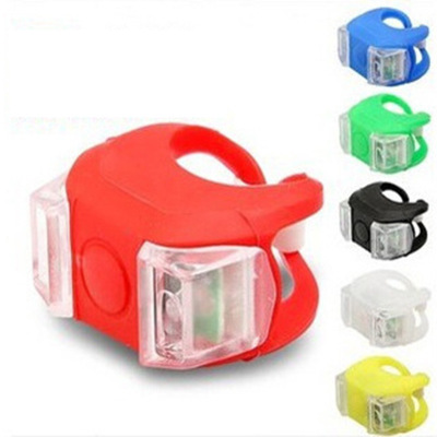 自行车灯 六代青蛙灯 安全警示灯 死飞尾灯 单车配件装备