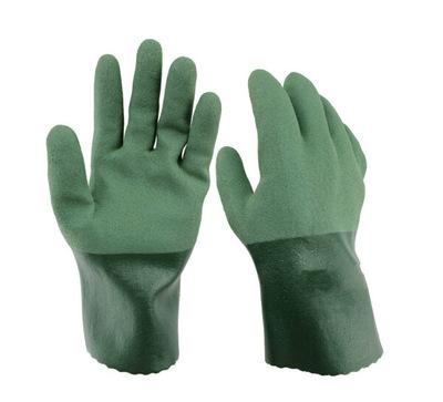 东兴565耐油手套渔业矿业防油防溶剂丁腈橡胶耐磨劳保 TOWA绿色