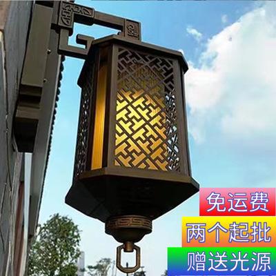 露台壁灯中式复古室外墙灯别墅阳台门口中式庭院户外防水壁灯