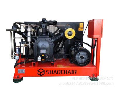 南京空压机 绍尔机械 供应0.9立方100公斤活塞式高压空压机
