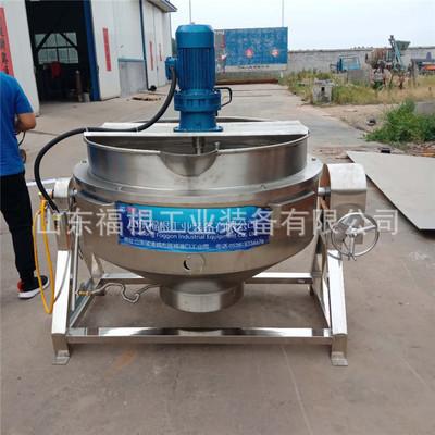 加工定制燃气加热搅拌炒锅 商用倾斜式炒锅多功能厨房设备
