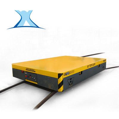 可定制蓄电池轨道车电动平车地爬车轨道过跨转运车