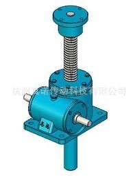 厂价供应QSWL系列蜗轮丝杆升降机 微型蜗轮蜗杆升降机