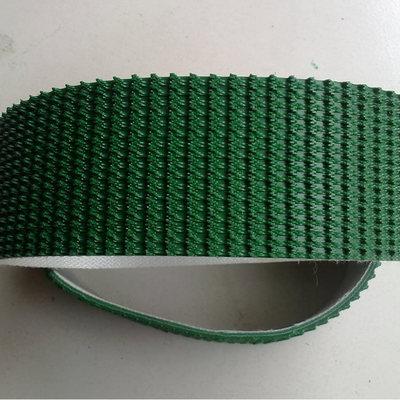专业定制PVC输送带 高摩擦草带 4.5MM墨绿色花纹输送带
