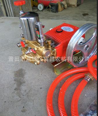 3WZ-45三缸柱塞泵机动力喷雾机泵高压清车机清洗机专用泵富士特正