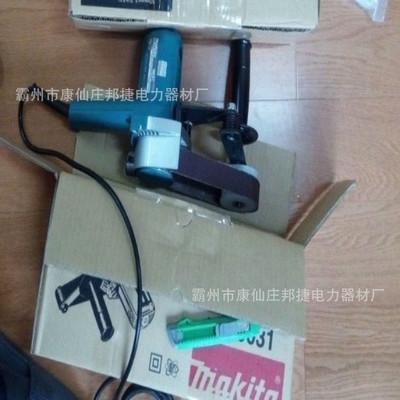 厂家直销CS-160B电动式电缆打磨机 带式砂光机 带式砂光机
