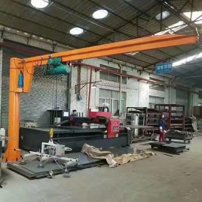 泰山厂家电动旋臂 起重机旋臂吊 非标定柱式定制悬臂吊工程简易