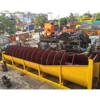 厂家供应大型螺旋洗砂机 洗石机滚筒洗矿机 水轮选矿机水斗洗沙机