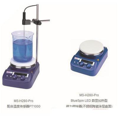 批发北京大龙MS-H-Pro+数显加热磁力搅拌器