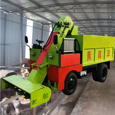整套畜牧养殖设备 大中小型柴油18马力清粪车 铲车式环保粪便清车