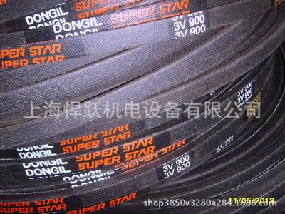 风机皮带韩国DONGIL/东一皮带3V710高速防油耐高温包布三角带