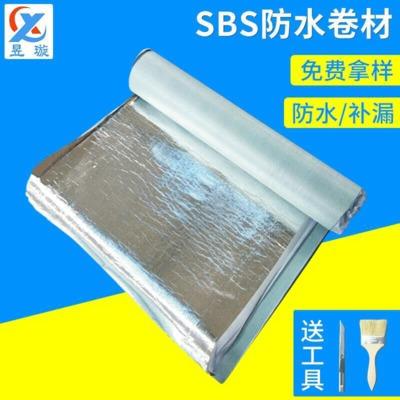 自粘聚合物sbs防水卷材 交叉膜防水卷材 房屋修补自粘防水卷材