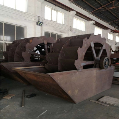 2610轮斗式洗砂机 单轮双轮洗沙机 新型螺旋滚筒洗沙设备生产线