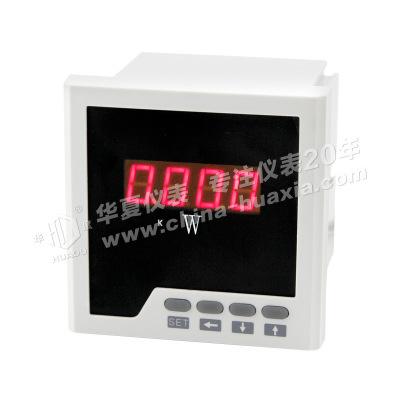 数显仪表 单相有功功率表 数显电测表 厂家直销