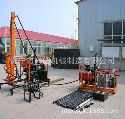 分体式气动钻机 轻便型勘探钻机 山地钻机 30米石油物探钻机