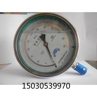 管道打压表 阳泉精仪 精密压力表0.4 级标准表 高精度YB-150