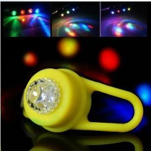 山地车青蛙硅胶灯自行车安全警示尾灯矽胶灯