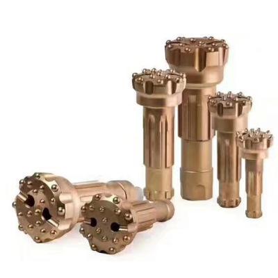 厂家直销 高低风潜孔钻头 液压式凿岩钻头开采型号齐全支持定制