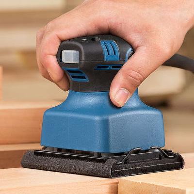 东成电动砂纸机S1B-FF/FF03-110*100腻子砂磨机墙面打磨平板