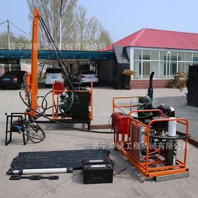 厂家生产直销轻便石油物探山地钻机 人抬式山地钻机操作简单方便