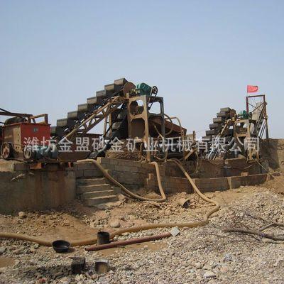 直径2800mm轮斗式洗砂设备 机制砂砂石清洗设备 轮式洗砂机厂家