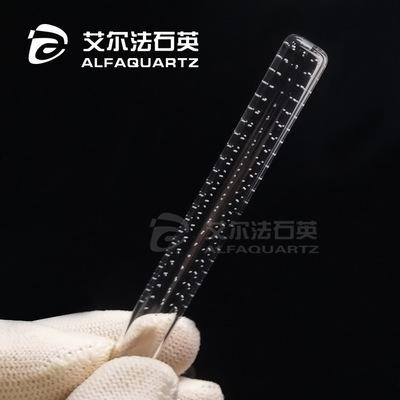 石英玻璃管 激光精密打孔 开槽 深孔加工 接受定做 厂家直销