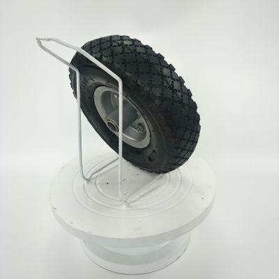 青岛厂家供应10寸宝石花防滑耐磨静音3.00-4铁轮毂天然橡胶充气轮