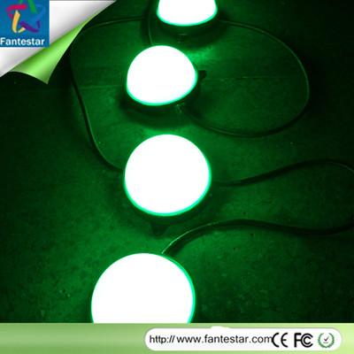LED10公分点光源 全彩点光源 幻彩点光源 LED5050贴片点光源10cm