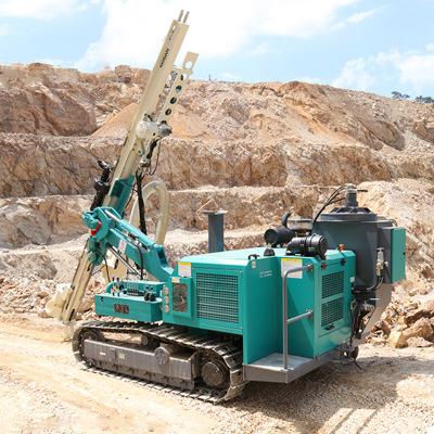 现货爆破钻机小型钻孔机凿岩钻机开山爆破钻孔机