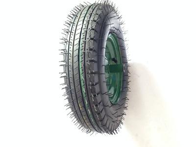 热销推荐充气脚轮 400-8手推车充气轮胎 防滑耐磨橡胶工业脚轮
