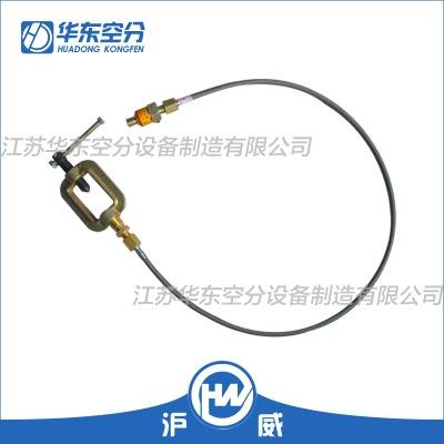 沪威 乙炔不锈钢金属软管 乙炔卡具夹具 单向阀 汇流排专用