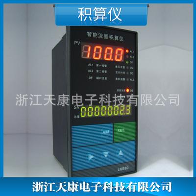 供应 LK流量积算仪 智能流量积算仪横式 控制仪表