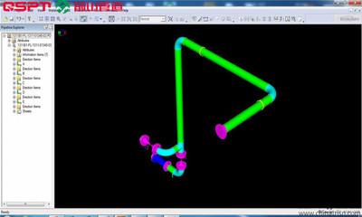 管道详图设计软件 预制画图软件 管道单线图 管线图单线图