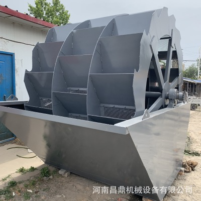 供应轮斗式洗砂机 供应洗沙机 选矿制砂专用 螺旋洗砂机价格