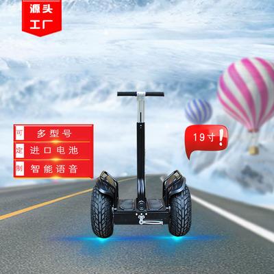 电动平衡车 成人19寸越野平衡车36v48v双轮巡逻车体感车厂家批发