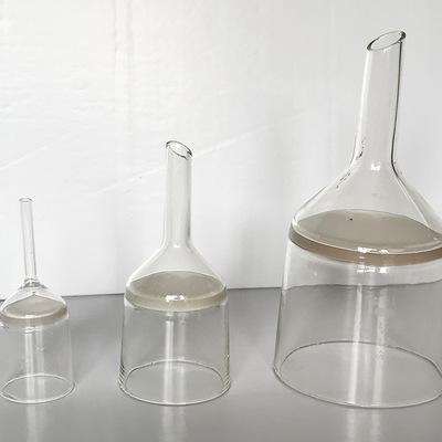 厂家直销 砂芯过滤坩埚漏斗 玻璃漏斗 过滤减压硼硅玻璃漏斗批发