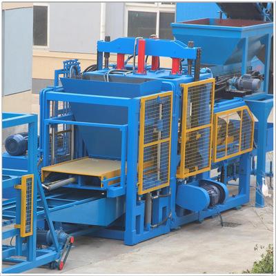 厂家直销 全自动液压水泥砖机 免烧水泥砖机 水泥空心砖机