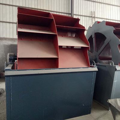 力荐洗砂机  细沙回收机砂石分离机 洗砂机设备 螺旋式洗沙机