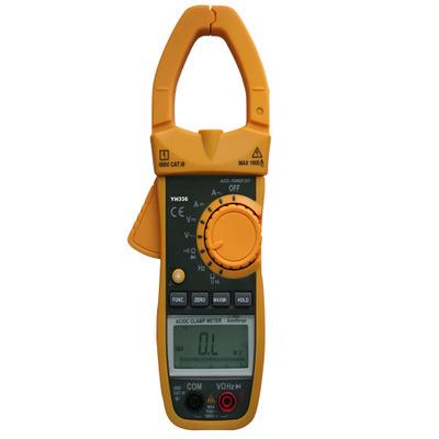 国产精品YH336真有效值钳型表YH-336真有效值交直流钳形电流钳表