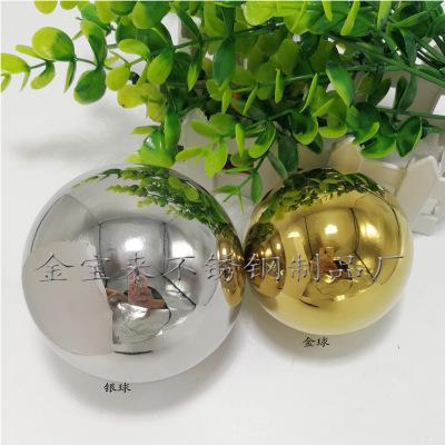 厂家直销宁盛牌潮州市不锈钢圆球空心球装饰球配件连体球扶手球