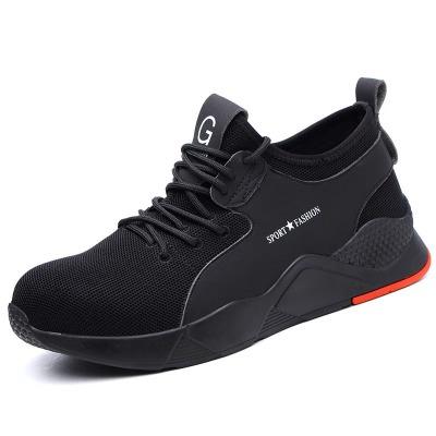 厂家直销飞织透气劳保鞋 轻便保暖工作防护鞋 秋冬季新款安全鞋