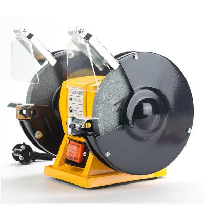 5寸家用台式砂轮机多功能小型磨刀机电动工具抛光机沙轮微型砂轮