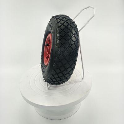 10寸手推车货仓车平板车农用机械等防滑耐磨3.00-4塑料轮辋充气轮
