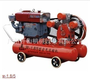开山W-1.8/5-D矿用活塞机式空压机 空气压缩机 配套电机使用